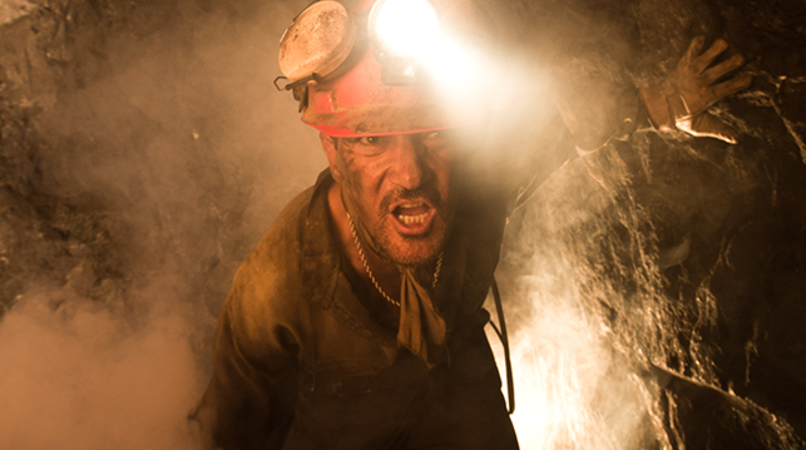 "ANTONIO BANDERAS as Mario Sepúlveda in Alcon Entertainment's true-life drama ""THE 33,"" a Warner Bros. Pictures Release."
