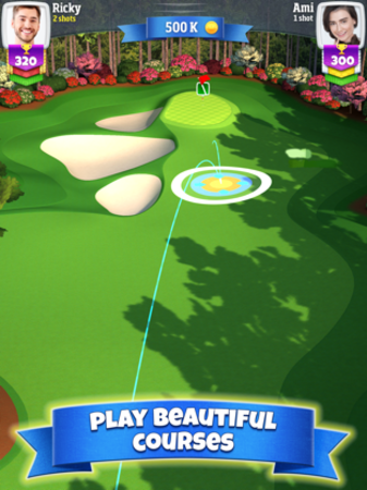 Play beautiful courses