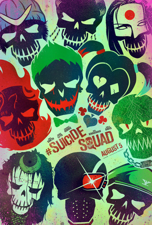 Suicide Squad poster 1