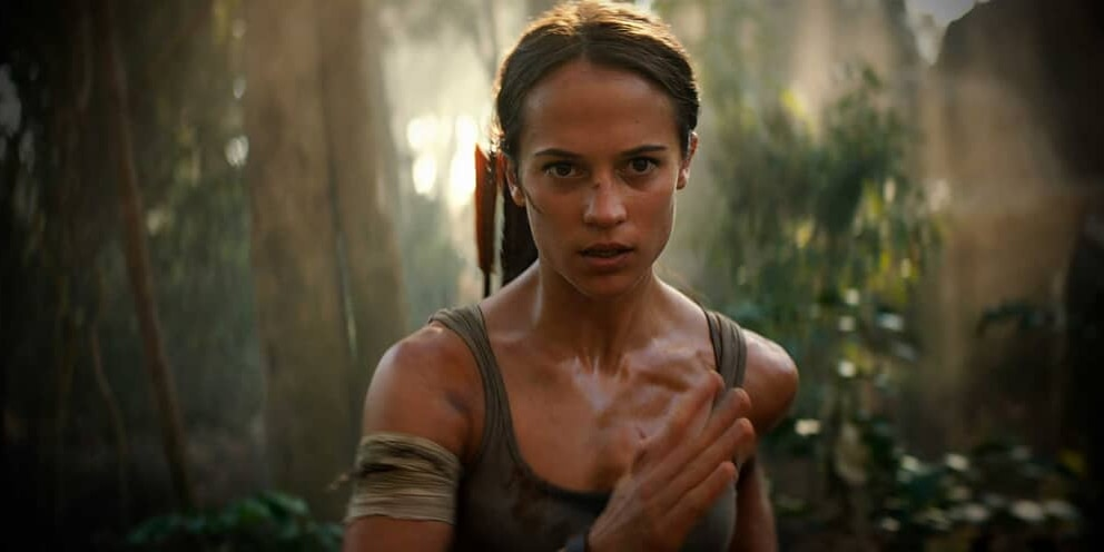 tomb raider 1 movie trailer