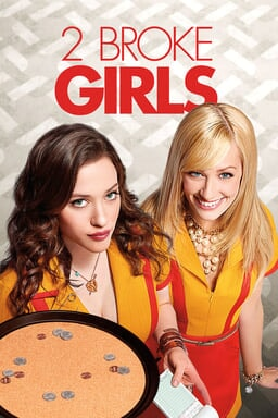2 Broke Girls: Season 1 - Key Art