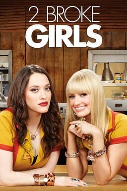 2 Broke Girls: Season 2 keyart