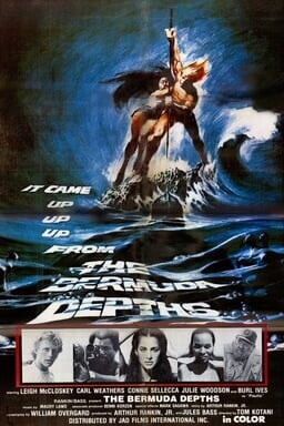 The Bermuda Depths (TV Movie) - Key Art