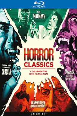 Horror Classics, Volume One Collection - Key Art