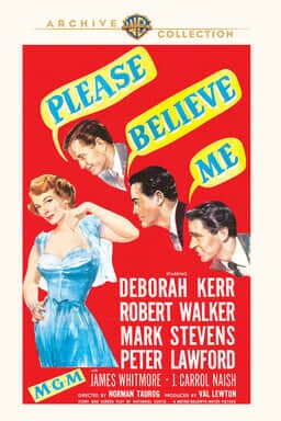 Please Believe Me - Key Art