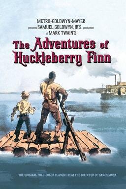 Adventures of Huckleberry Finn 1960 keyart