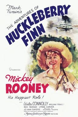 Adventures of Huckleberry Finn keyart