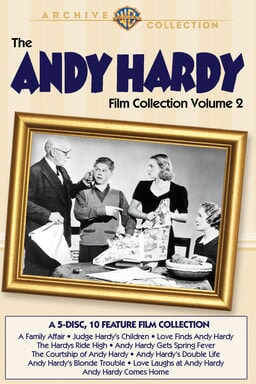 Andy Hardy Film Collection Volume 2 keyart