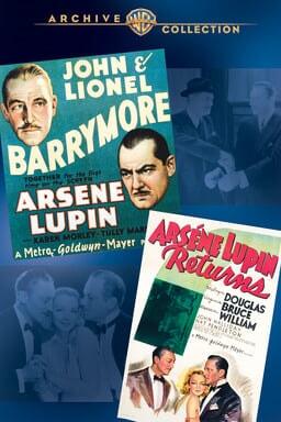 Arsene Lupin Double Feature keyart