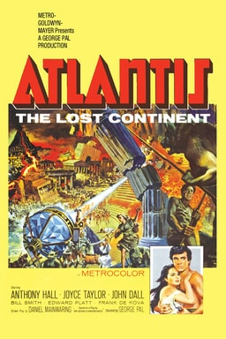 Atlantis, the Lost Continent keyart