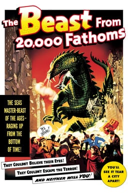 The Beast from 20,000 Fathoms keyart