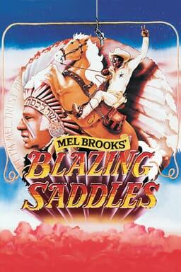 Blazing Saddles keyart