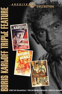 Boris Karloff Triple Feature keyart