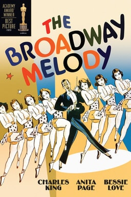 Broadway Melody of 1929 keyart