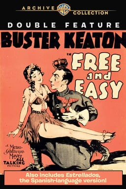 Buster Keaton: Free and Easy/ Estrellados Double Feature - Key Art
