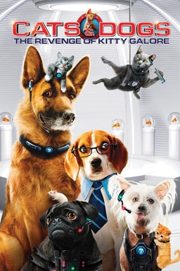 Cats and Dogs: Revenge of Kitty Galore keyart