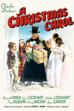 Christmas Carol 1938 keyart