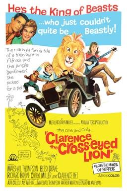 Clarence Cross eyed Lion keyart