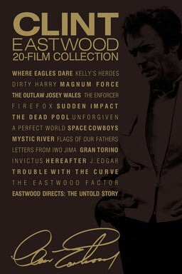 Clint Eastwood 20-film Collection keyart