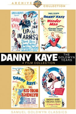 Danny Kaye: Goldwyn Years keyart