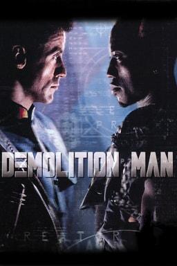 Demolition Man keyart