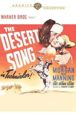 Desert Song 1943 keyart
