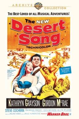 Desert Song 1953 keyart