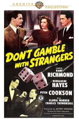 Dont Gamble with Strangers keyart
