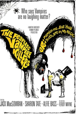 The Fearless Vampire Killers poster art