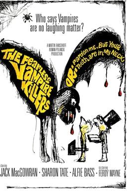 The Fearless Vampire Killers poster art