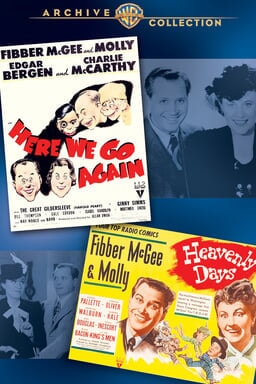 Fibber Mcgee and Molly Double Feature keyart