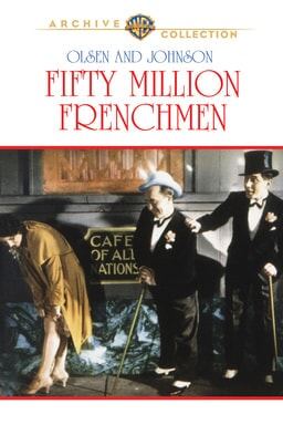 fifty million frenchmen poster