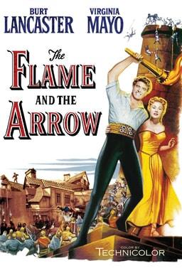 Flame and the Arrow keyart