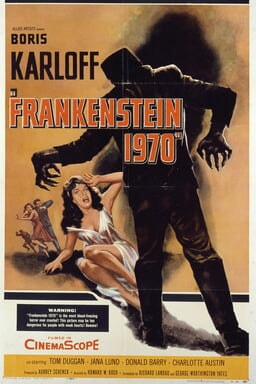 Frankenstein 1970 - Key Art