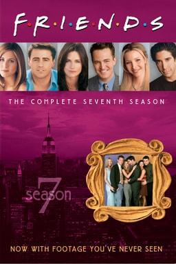 Friends: Season 7 keyart