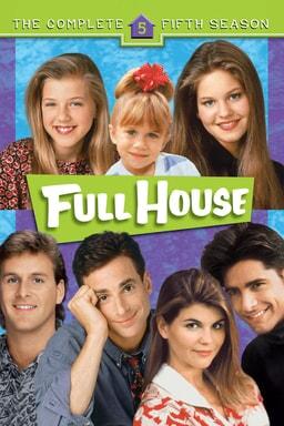 Full House: Season 5 keyart