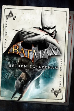 Batman: Return to Arkham - Batman playing card