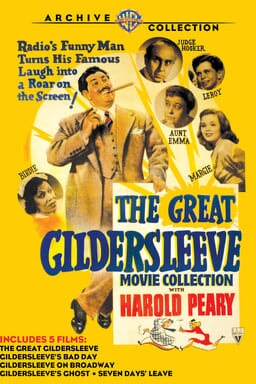 Great Gildersleeve Movie Collection keyart