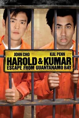 Harold and Kumar Escape from Guantanamo Bay keyart