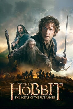 Hobbit: The Battle of the Five Armies keyart