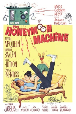 Honeymoon Machine keyart