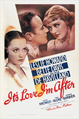 bette davis and olivia de havilland and patric knowles in it's love i'm after available now on dvd