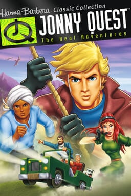 Jonny Quest: The Real Adventures keyart