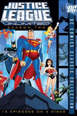 Justice League: Season 2 keyart