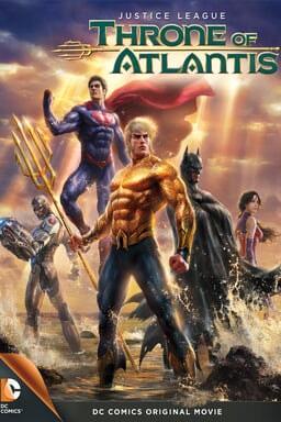 Justice League: Throne of Atlantis keyart