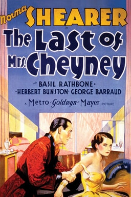 The Last of Mrs. Cheyney 1929 keyart