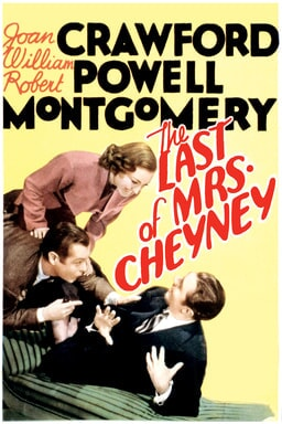 The Last of Mrs. Cheyney 1937 keyart