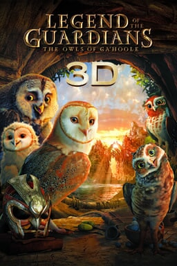 Legend of the Guardians: the Owls of Gahoole keyart