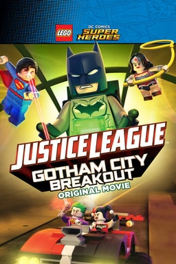 LEGO DC Comics Super Heroes – Justice League: Gotham City Breakout available now on digital hd and july 12 on blu-ray and dvd
