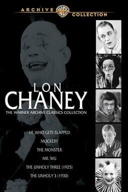 Lon Chaney Warner Archive Classics Collection keyart
